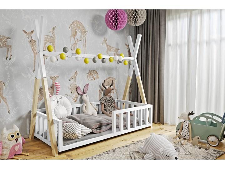 Łóżeczko dziecięce WIGWAM TIPI : Dodatki ---, Powierzchnia spania łóżka - 80x160cm, Wybierz kolor ...
