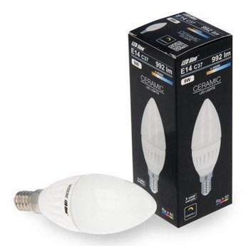 Żarówka LED line® E14 SMD 170-250V 9W 992lm 4000K C37 biała dzienna ściemnialna
