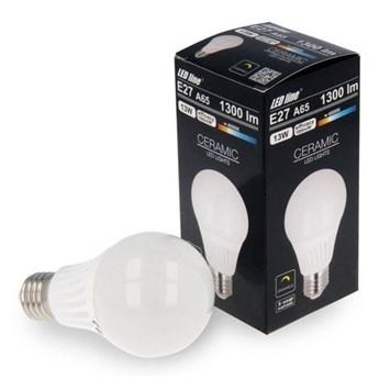 Żarówka LED line® E27 170-250V 13W 1300lm 4000K A65 biała dzienna ściemnialna