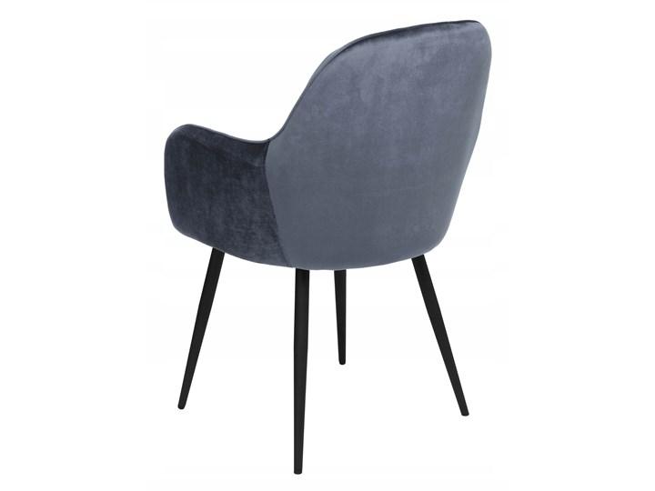 Krzesło aksamitne Sevilla velvet grafitowe Krzesło inspirowane Welur Tworzywo sztuczne Tapicerowane Wysokość 86 cm Tkanina Głębokość 56 cm Skóra Metal Szerokość 55 cm Kolor Szary