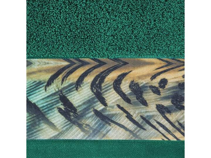Ręcznik Eva Minge Collin zielony w rozmiarze 70x140 z drukowaną bordiurą Ręcznik kąpielowy 70x140 cm Bawełna Kategoria Ręczniki