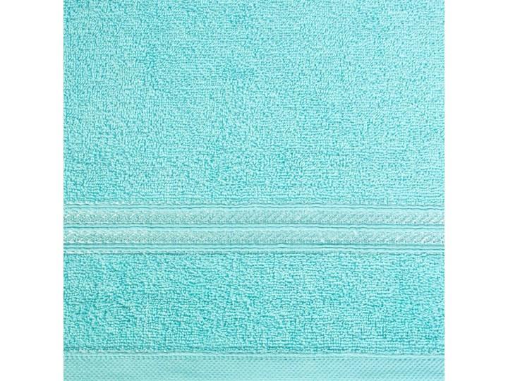 Ręcznik kąpielowy błękitny 50x90 frotte 450g/m2 elegancki, lśniąca bordiura, Lori Bawełna Kolor 50x90 cm Kategoria Ręczniki