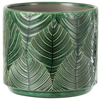 Doniczka Tropical Ø15x13 cm zielona