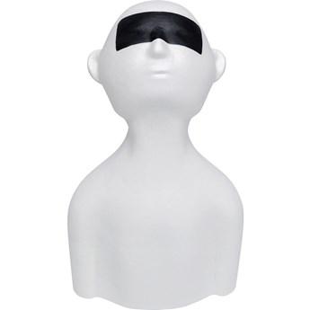 Figurka dekoracyjna Johnny 22x39 cm biała