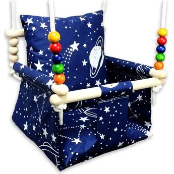 Kubełkowa huśtawka dziecięca kosmos - Berma