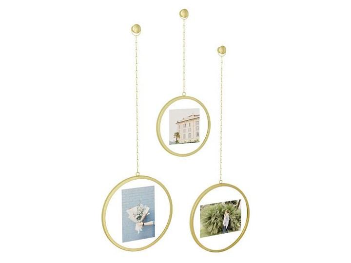 Zestaw trzech złotych ramek - Arteo Kategoria Ramy i ramki na zdjęcia