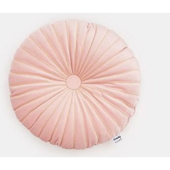 Sinsay - Poduszka ⌀ 36 - Różowy