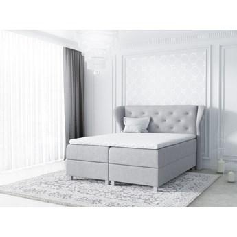 łóżko kontynentalne BAKARAT : Powierzchnia spania łóżka - 140x200cm, Wybierz tkaninę  - Pagani 23674