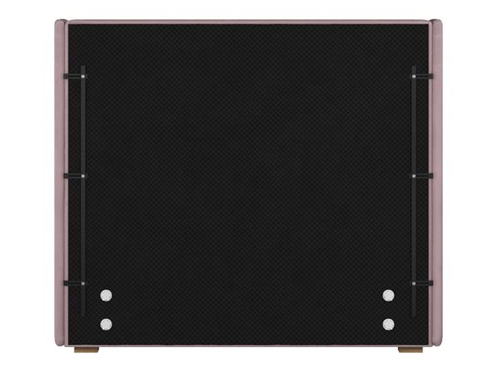 Łóżko Jewel 140x200 cm z pikowanym zagłówkiem i panelami bocznymi Drewno Łóżko pikowane Welur Kategoria Łóżka do sypialni