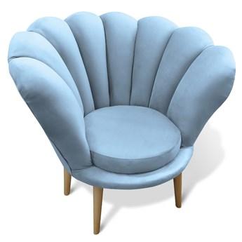 Fotel glamour do salonu ADELE / kolory do wyboru