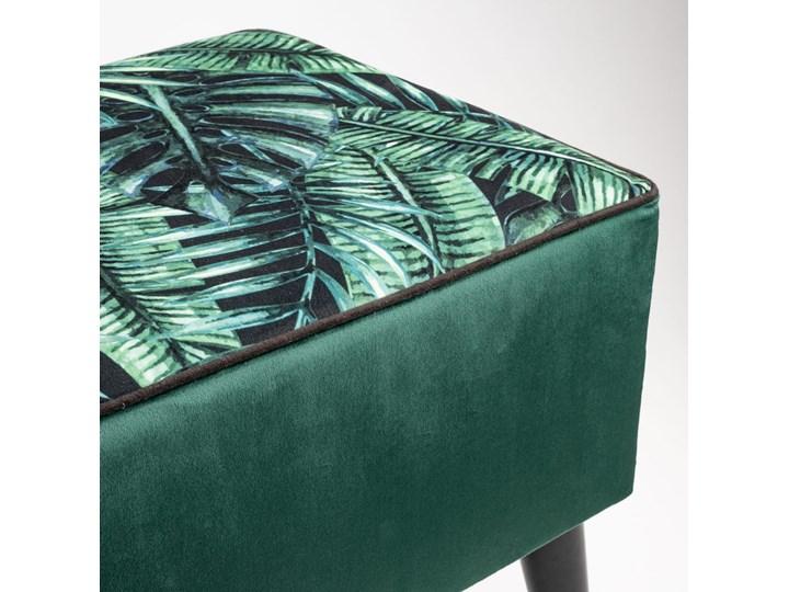 Ławka tapicerowana do przedpokoju Retro Palm Kategoria Ławki do salonu