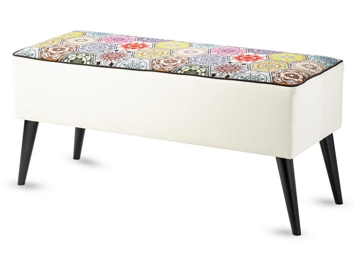 Ławka tapicerowana do przedpokoju Retro Hexagons Kategoria Ławki do salonu
