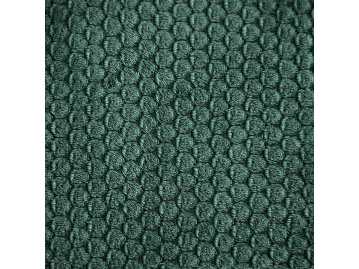 Koc 150x200 Zoe super miękki koc flano z efektem 3D, kolor ciemny zielony Poliester 150x200 cm Wzór Z nadrukiem