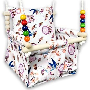 Kubełkowa huśtawka dla dziecka jaskółki - Holia