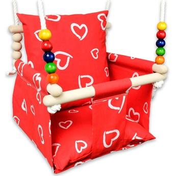 Huśtawka dla rocznego dziecka w serca - Holia