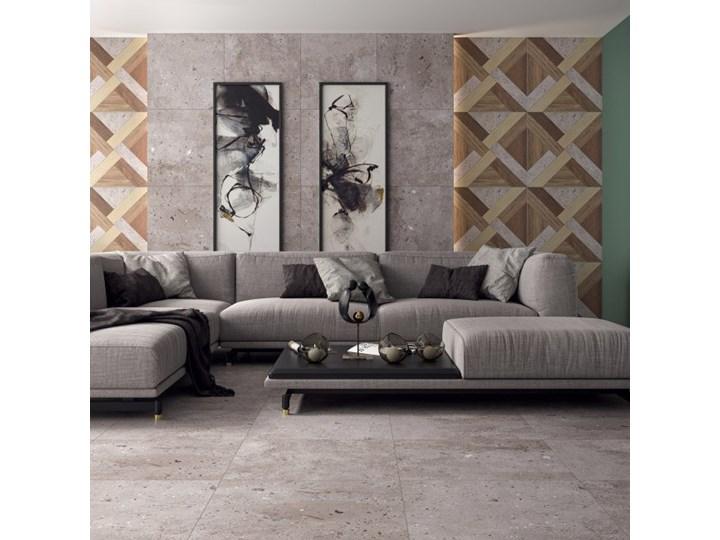 Gres Art Paradyż 60 x 60 cm wood struktura 1,08 m2 Kwadrat 60x60 cm Mozaika Płytki tarasowe Powierzchnia Matowa Płytki podłogowe Kolor Brązowy
