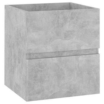 VidaXL Zestaw mebli łazienkowych, szarość betonu, płyta wiórowa