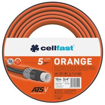 """Wąż ogrodowy Cellfast Orange ATSV 3/4"""" 15m"""