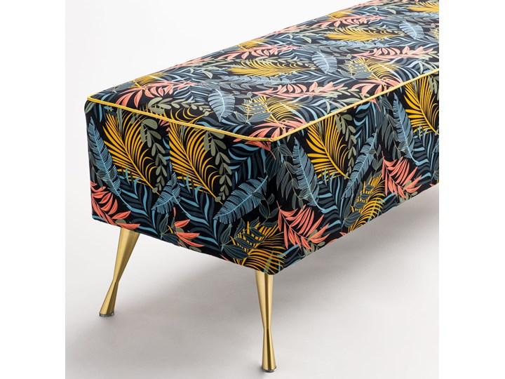 Ławka tapicerowana do przedpokoju Retro Tropic Materiał obicia Tkanina Kategoria Ławki do salonu