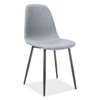 Krzesło FOX szare/czarne SIGNAL