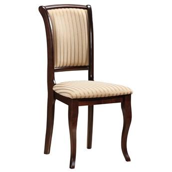 Krzesło MN-SC ciemny orzech/beżowe T19 SIGNAL