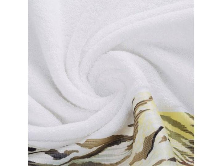 Ręcznik Eva Minge Cecil biały w rozmiarze 70x140 z drukowaną bordiurą 70x140 cm Ręcznik kąpielowy Bawełna Kategoria Ręczniki