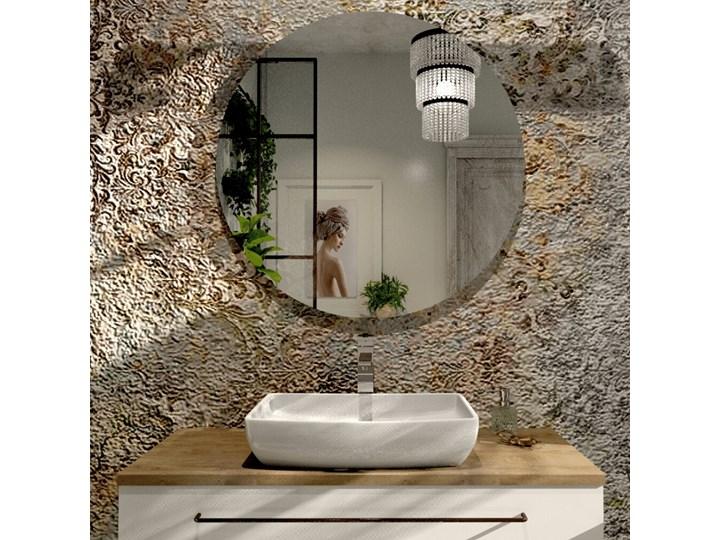 Umywalka nablatowa Massi KORI Podwieszane Prostokątne Wolnostojące Kamień naturalny Kategoria Umywalki Ceramika Nablatowe Kolor Biały
