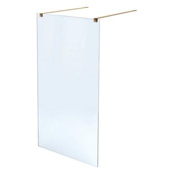 MASSI ścianka prysznicowa WALK IN 80cm GOLD