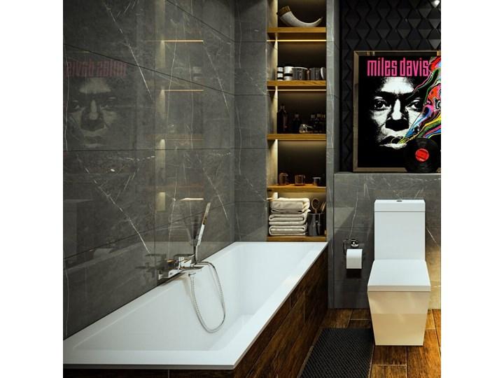 Wanna do zabudowy Massi INDO 150x70 Prostokątna Kategoria Wanny Symetryczne Akryl Długość 150 cm Kolor Biały