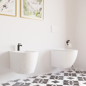 MASSI Miska WC LOCA MINI rimless slim duro