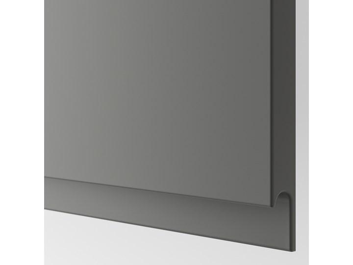 IKEA BESTÅ Kombinacja z drzwiami, Biały/Västerviken ciemnoszary, 120x42x193 cm Metal Szerokość 120 cm Głębokość 42 cm Tworzywo sztuczne Typ Modułowa Plastik Stal Pomieszczenie Sypialnia