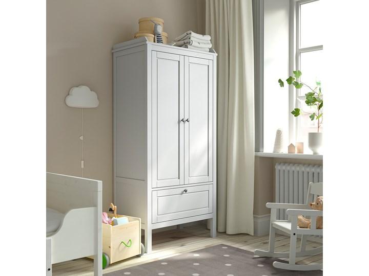 IKEA SUNDVIK Szafa, Szary, 80x50x171 cm Drewno Głębokość 50 cm Szerokość 80 cm Kategoria Szafy do garderoby Plastik Tworzywo sztuczne Typ Gotowa