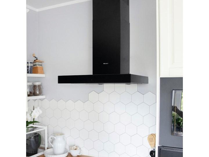 Okap kuchenny VERTA 60.1 BLACK Szerokość 60 cm Okap przyścienny Poziom hałasu 63 dB