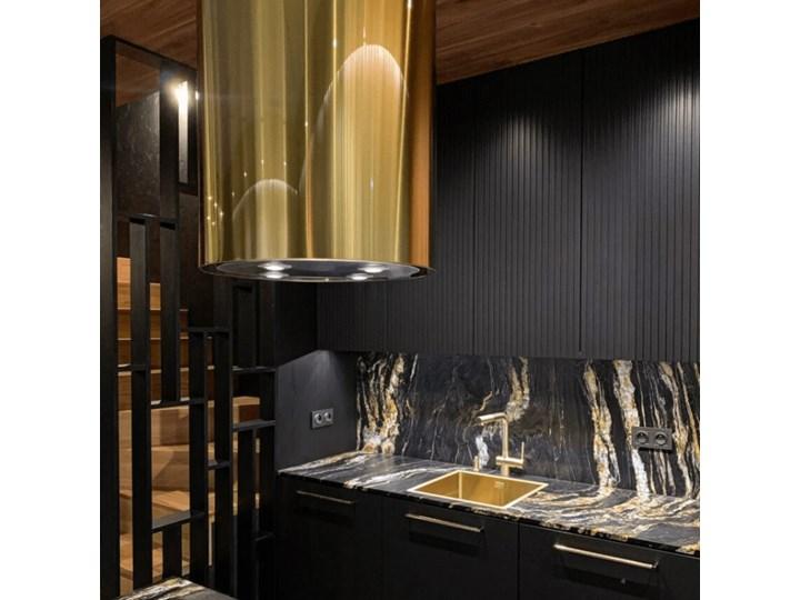 Okap kuchenny Cylindro Isola 39.5 Light Gold Okap wyspowy Okap przyścienny Poziom hałasu 66 dB Kategoria Okapy
