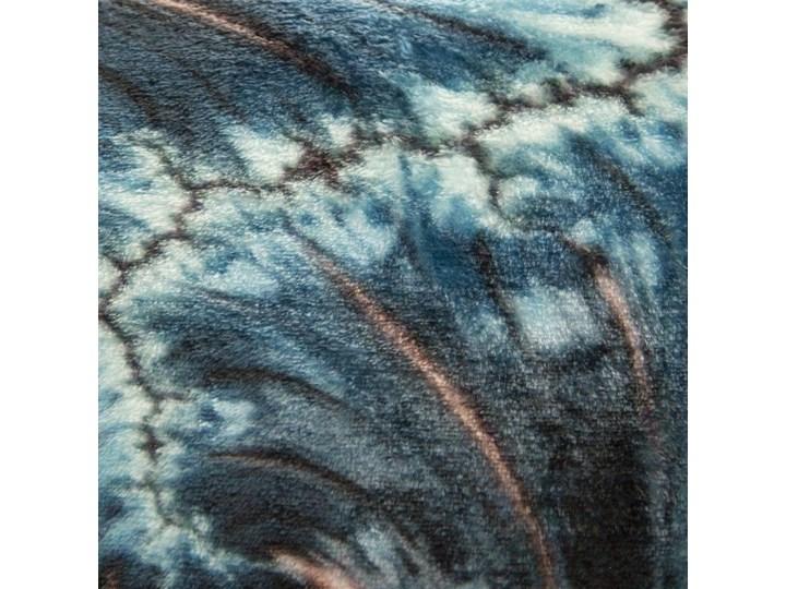 Koc Eva Minge 150x200 Chiara super miękki koc flano, kolor niebieski brązowy Poliester 150x200 cm Kategoria Koce i pledy