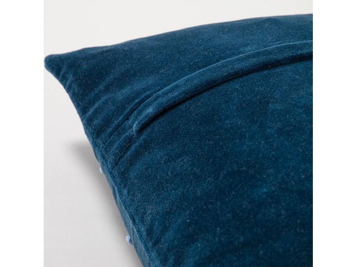 Poszewka dekoracyjna Aines 45x45 cm niebieska Kolor Kategoria Poduszki i poszewki dekoracyjne