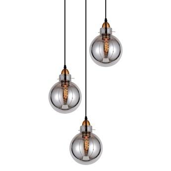 POTRÓJNA NOWOCZESNA LAMPA WISZĄCA LOFT DYMIONA CALVI W3-RD