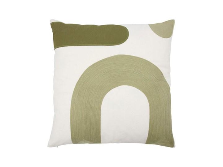House Doctor - Poszewka na poduszkę Curve Wzór Jednolity 50x50 cm Bawełna Poszewka dekoracyjna Pomieszczenie Salon