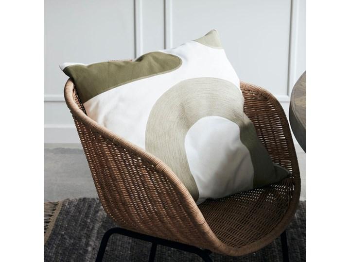 House Doctor - Poszewka na poduszkę Curve Wzór Jednolity Poszewka dekoracyjna Bawełna 50x50 cm Pomieszczenie Salon