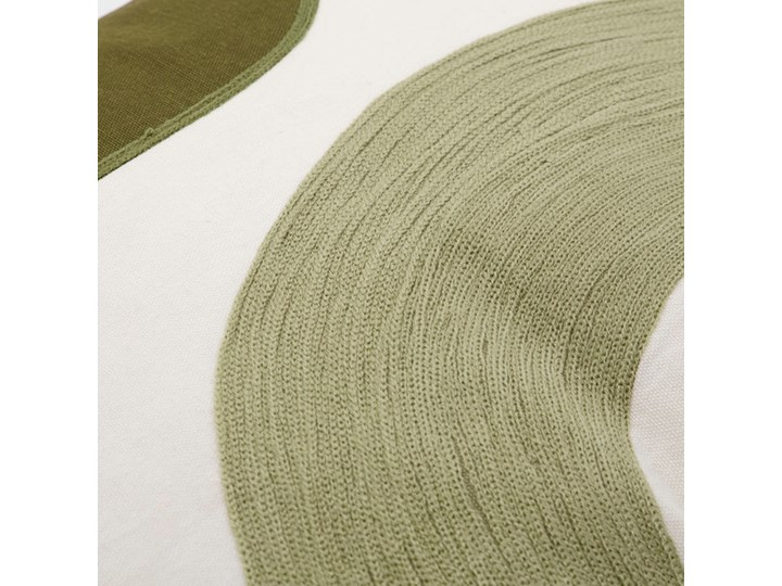 House Doctor - Poszewka na poduszkę Curve Poszewka dekoracyjna Wzór Jednolity 50x50 cm Bawełna Kategoria Poduszki i poszewki dekoracyjne