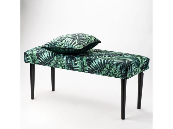 Ławka tapicerowana PALM Kolor Czarny