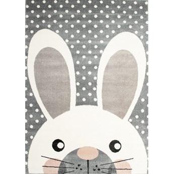 Dywan dziecięcy królik szary