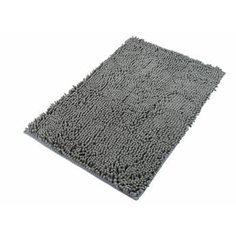 Dywanik Łazienkowy Mikrofibra Szary CHENILLE 62463 70 x 150 cm