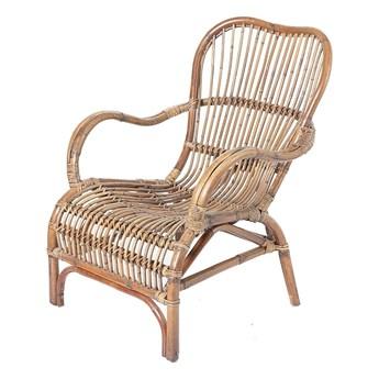 Fotel rattanowy Nusa, 64 x 80 x 86 cm
