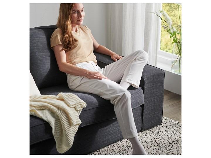 IKEA KIVIK Sofa narożna 5-osobowa, z szezlongiem/Hillared antracyt, Głębokość szezlonga: 163 cm Nóżki Bez nóżek Liczba miejsc Pięcioosobowy i więcej