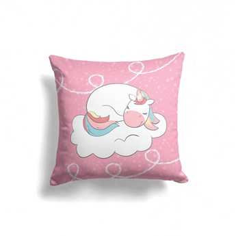 Poduszka - Jednorożce i chmurki