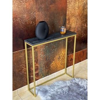 konsolka, toaletka LOFT GLAMOUR p.15x15 68x18x82