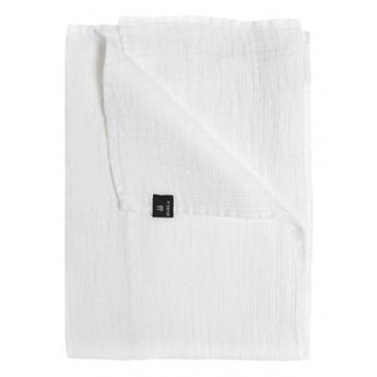 3-pak białe ręczniki 50x70 Lina OEKO-TEX z lnu i bawełny HIMLA