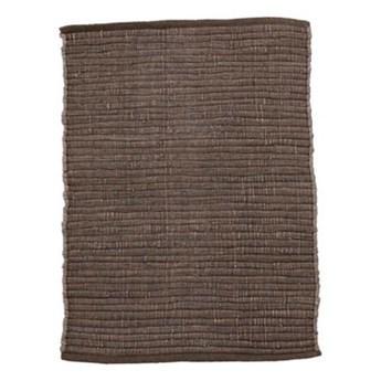 Brązowy dywanik Chindi 60x90 z bawełny HOUSE DOCTOR