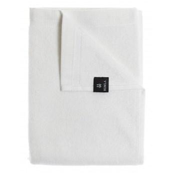 2-pak białe ręczniki 100x150 Lina OEKO-TEX z lnu i bawełny HIMLA